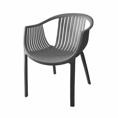 כסא קומודו - אפור