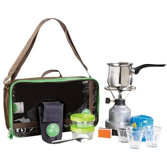 ערכת קפה לטיולים camp&go