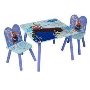כיסא ושולחן עץ לילדים פרוזן, Disney