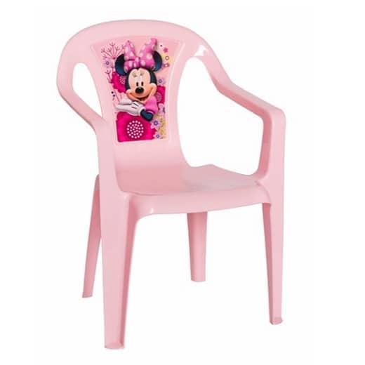 כיסא פלסטיק לילדים מיני מאוס Disney