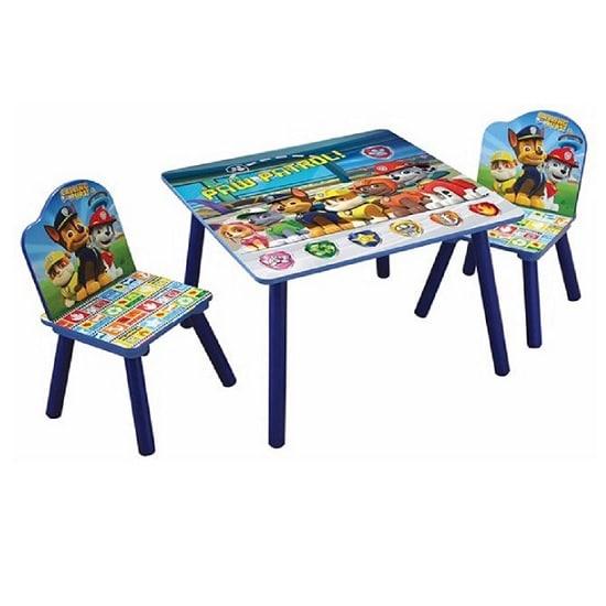 כסא ושולחן עץ לילדים מפרץ ההרפתקאות, Disney
