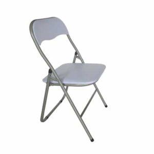 כסא לבן מתקפל- GAL