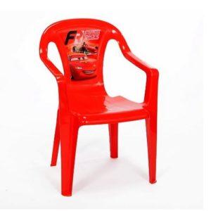 כיסא פלסטיק לילדים מכוניות Disney