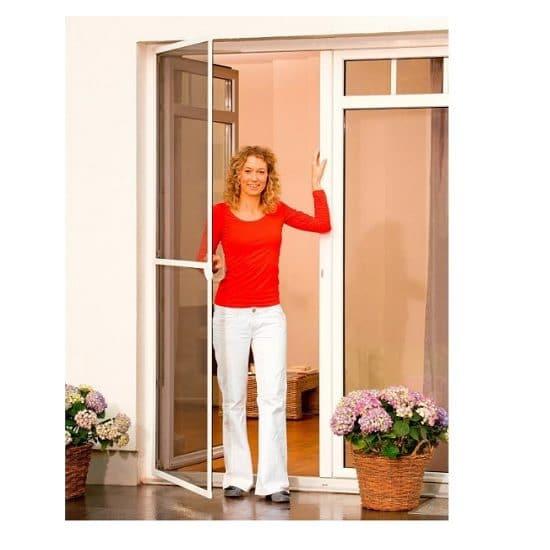 דלת + רשת להתקנה עצמית מבית TESA - ברונזה