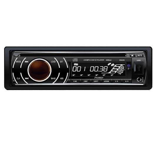 רדיו דיסק לרכב Premier CD438