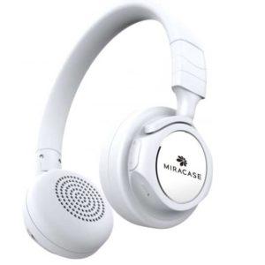 אוזניות דגם MBTO106 מביתMIRACASE - לבן