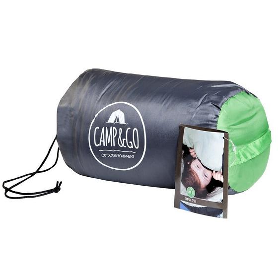 שק שינה ירוק CAMP&GO