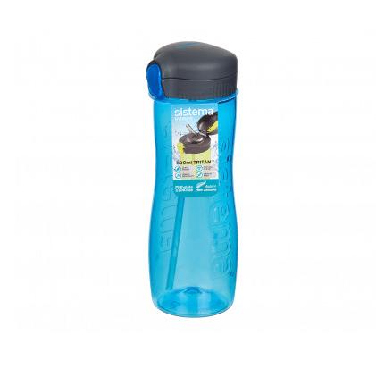 """בקבוק עם קש הידרו טריטן 800 מ""""ל מביתSistema"""