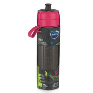 בקבוק ספורט לסינון מים BRITA fill&go - צבע ורוד