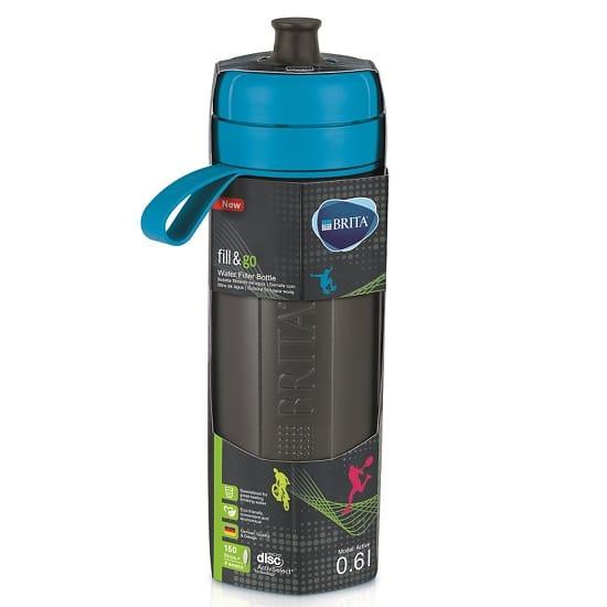 בקבוק ספורט לסינון מים BRITA fill&go - צבע כחול