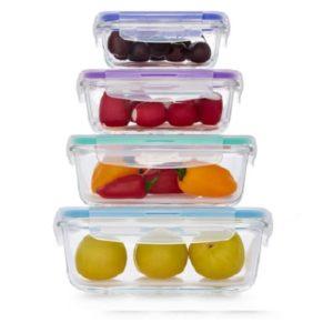 סט 4 כלי אחסון איכותיים מבית Food Appeal