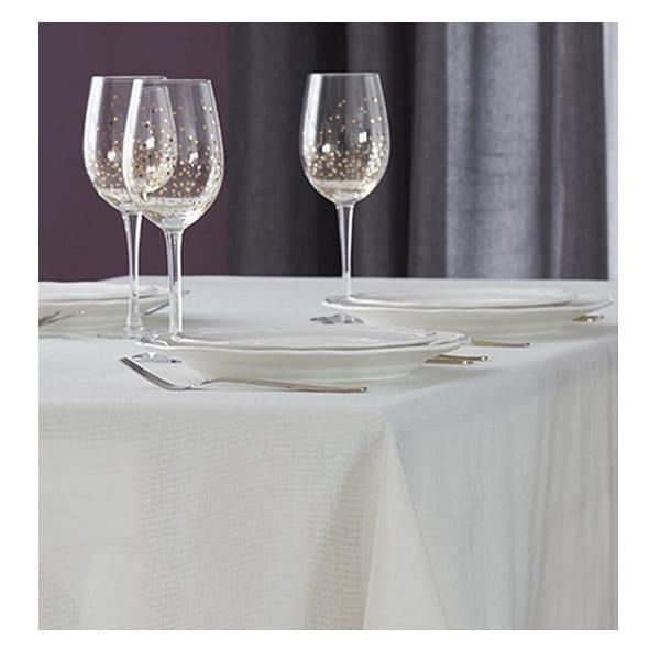 מפת שולחן דגם תמיר 140x240 מבית HOMESTYLE - צבע קרם