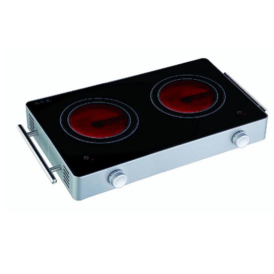 כירה חשמלית קרמית כפולה Sachs EF732