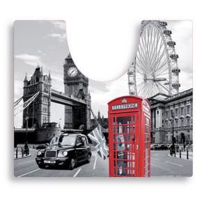 שטיח שירותים דגם לונדון SPLASH