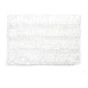 שטיח שאגי לאמבטיה קלאסי לבן 60*40