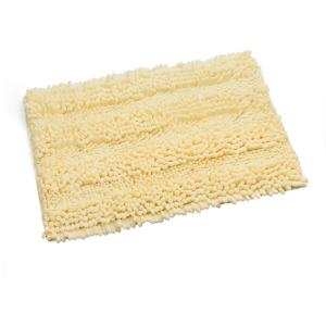 שטיח שאגי לאמבטיה קלאסי צהוב 60*40