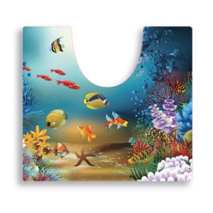 שטיח שירותים דגם דגים SPLASH