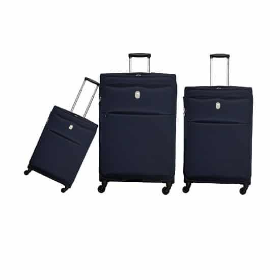 שלישיית מזוודות דלסי כחול 3429