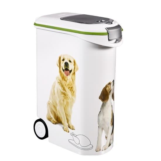 מיכל מזון 20 ליטר לחיות מחמד - כלב
