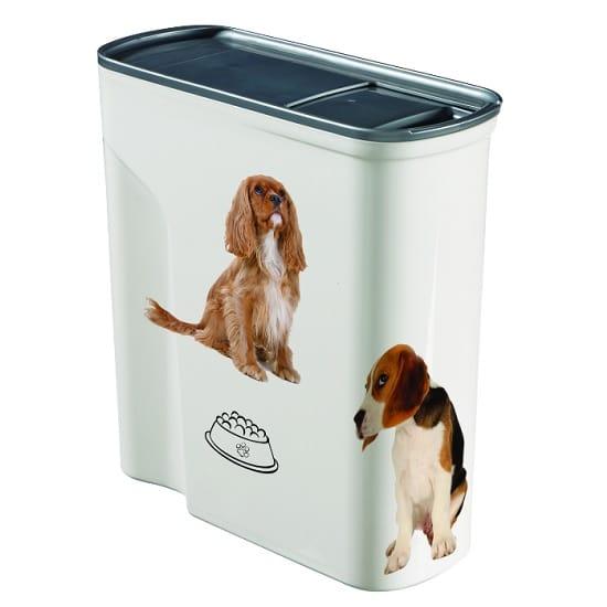 קופסאת אחסון מזון יבש לחיות מחמד - 6 כלבים