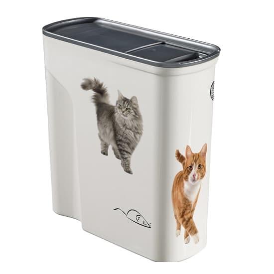 קופסאת אחסון מזון יבש לחיות מחמד - 6 חתולים