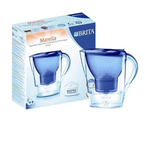 קנקן בריטה דגם MARELLA + פילטר צבע כחול