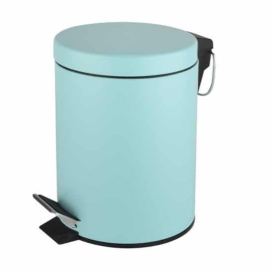פח אשפה עגול 3 ליטר צבע טורקיז מט מבית SPLASH