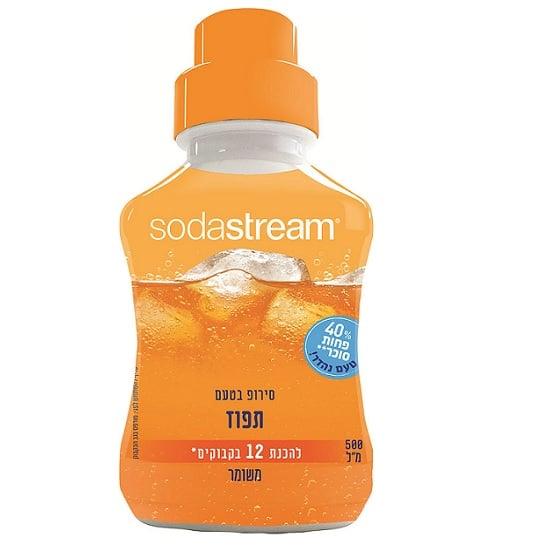 """סירופ בטעם תפוז 500 מ""""ל - סודהסטרים"""