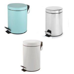 פח אשפה עגול 3 ליטר בצבעים שונים מבית SPLASH