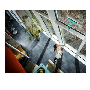 מגב חלונות רחב 3 ב 1 מסדרת Click System מבית LEIFHEIT