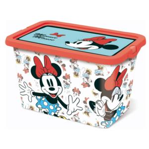 קופסת אחסון צעצועים מיני מאוס 7 ליטר