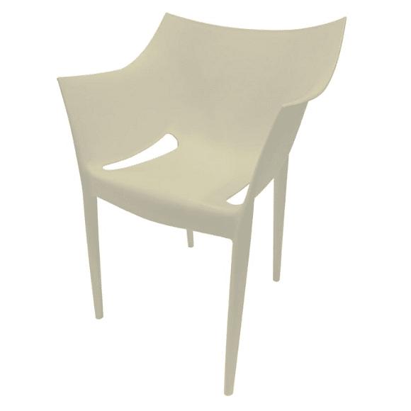 כיסא קומפורט - לבן