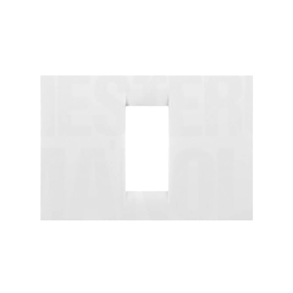 מסגרת VIRNA לבנה 1 מודול גוויס סיסטם