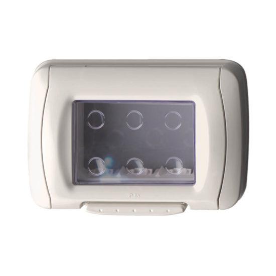 מסגרת מוגנת מים 3 מודול IP55 לבנה גוויס סיסטם