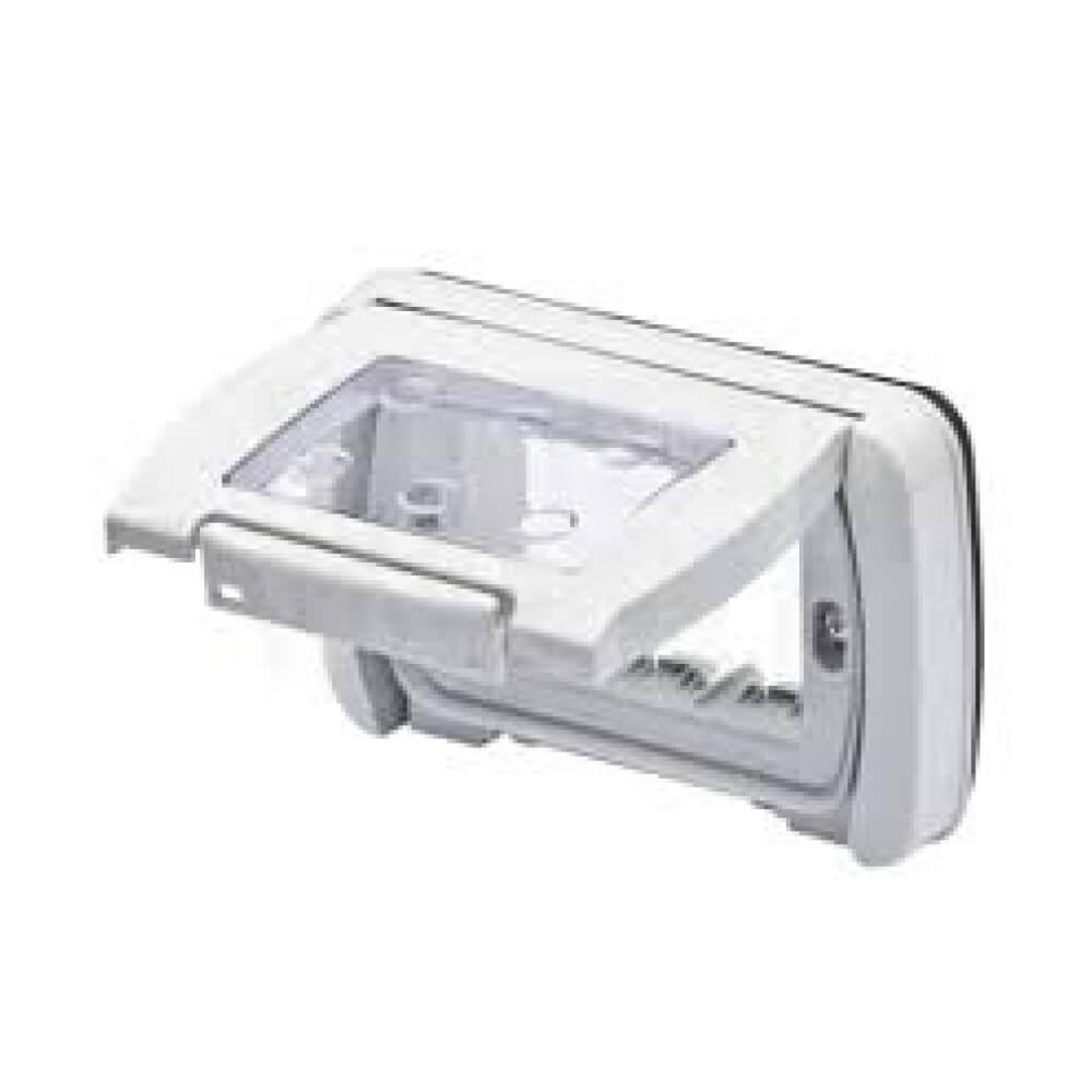 מסגרת מוגנת מים 4 מודול IP55 לבנה גוויס סיסטם