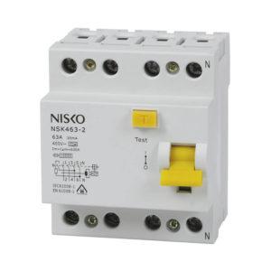 ממסר פחת NSK463-2 4X63/0.03 30mA