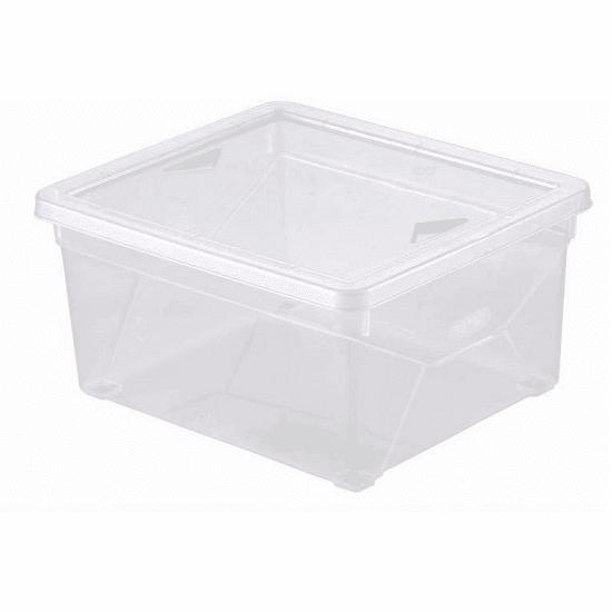 קופסת אחסון שקופה 2 ליטר מבית כתר