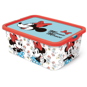 קופסת אחסון צעצועים מיני מאוס 13 ליטר