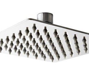 ראש מקלחת פלטיני כרום 250*250 ממ בראס