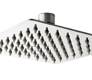 ראש מקלחת פלטיני כרום 300*300 ממ בראס