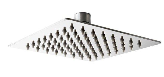 ראש מקלחת פלטיני כרום 400*400 ממ בראס