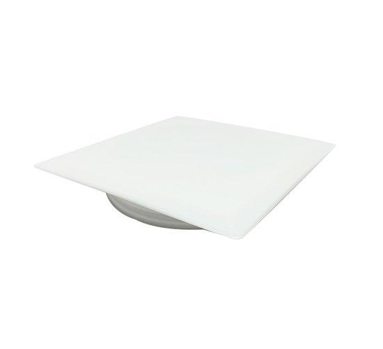 מכסה מרובע לפתח ניקוז לבן -בשקית