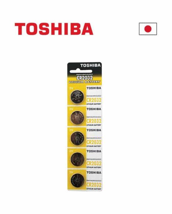 "   CR2032 3V LITHIUM TOSHIBA      י""ח 1"
