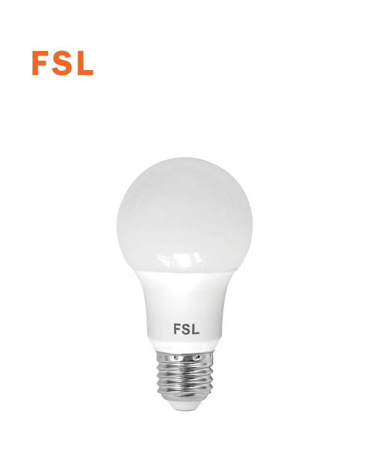 לד 7W A60 לבן אור יום FSL E27