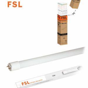 טיוב לד 18W T8 לבן אור יום 1.2 מטר  זכוכית, 25 י