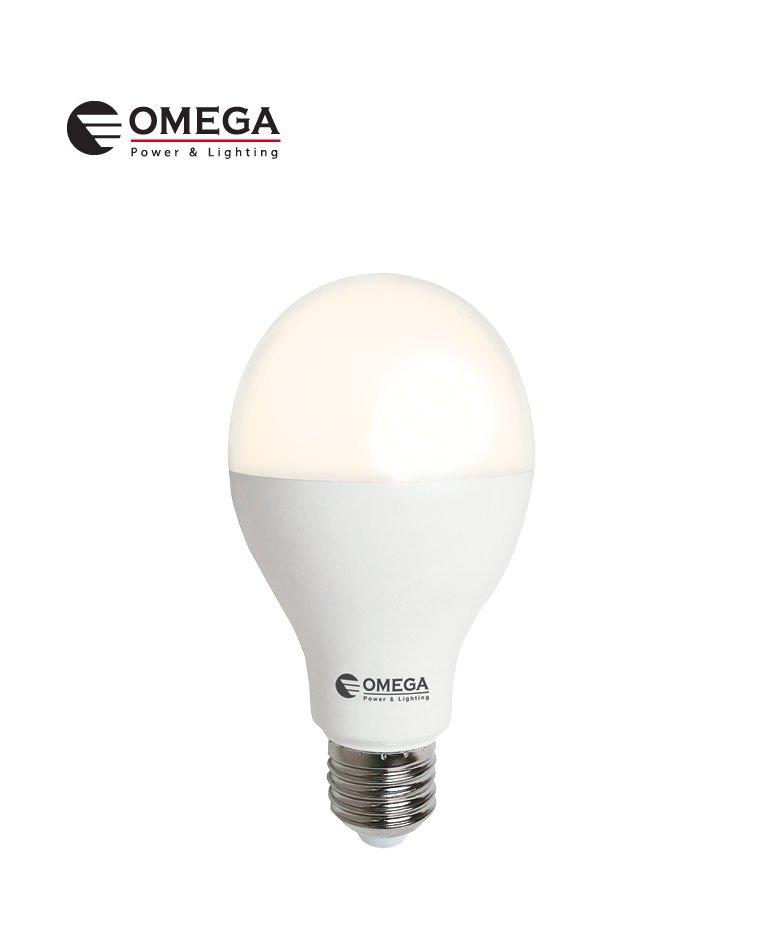 לד  A70 W17  אור חם   OMEGA   E27