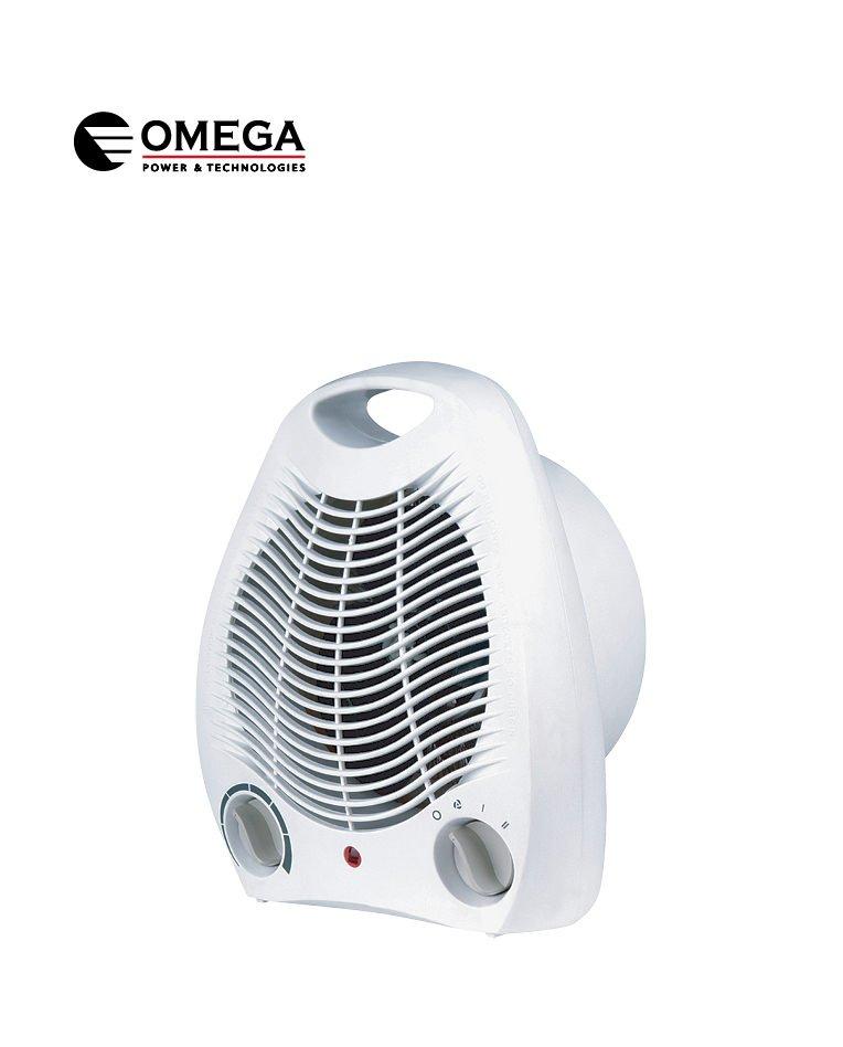 מפזר חום עומד 2000W/1000W+ אוורור OMEGA