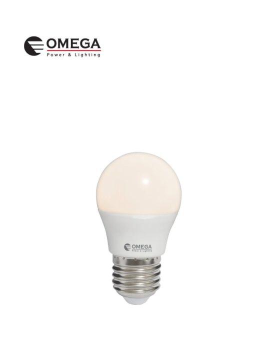 לד כדור 8W G45 אור חם OMEGA E27