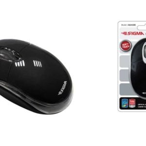 SIGMA  Optical Mini mouse  black