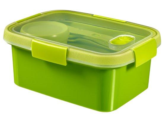 קופסת סמרט טו גו 1200 מלבנית- ירוק